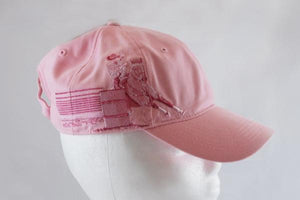 Ladies Pink Barrel Racer Hat