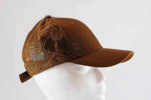 Brown Bull Rider Hat