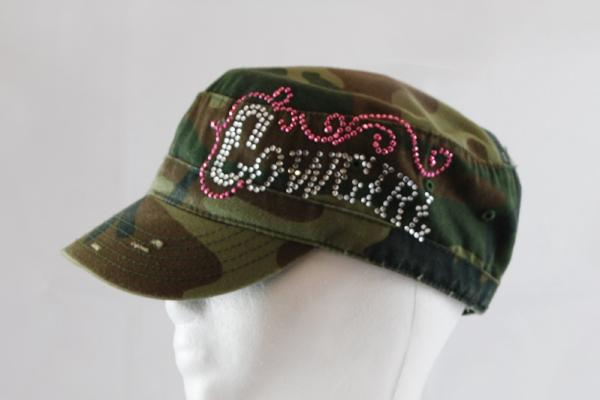 Camo Ladies Cowgirl Hat