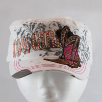 Ladies White Cowgirl Hat