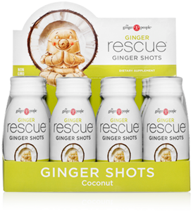 Ginger Rescue® Ginger Shots Coconut - 12 Pack Caddy - FREE SHIPPING
