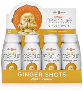 Ginger Rescue® Ginger Shots - Wild Turmeric 12 Pack Caddy - FREE SHIPPING