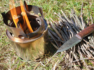 Backpacking Wood Stove Tips