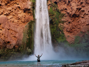 Backpacking to Havasu Falls