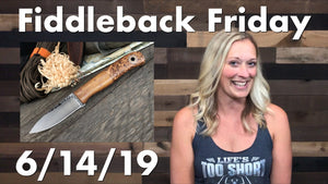 Fiddleback Friday 6/14/19 - Video Preview