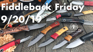Fiddleback Friday 9/20/19 - Video Preview
