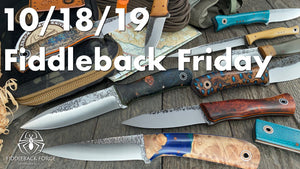 Fiddleback Friday 10/18/19 - Video Preview