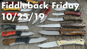 Fiddleback Friday 10/25/19 - Video Preview