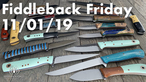 Fiddleback Friday 11/1/19 - Video Preview