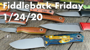 Fiddleback Friday 1/24/20 - Video Preview