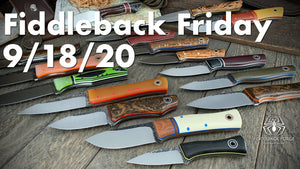 Fiddleback Friday 9/18/20 - Video Preview