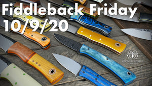 Fiddleback Friday 10/9/20 - Video Preview