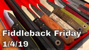Fiddleback Friday 01/04/19 - Video Overview