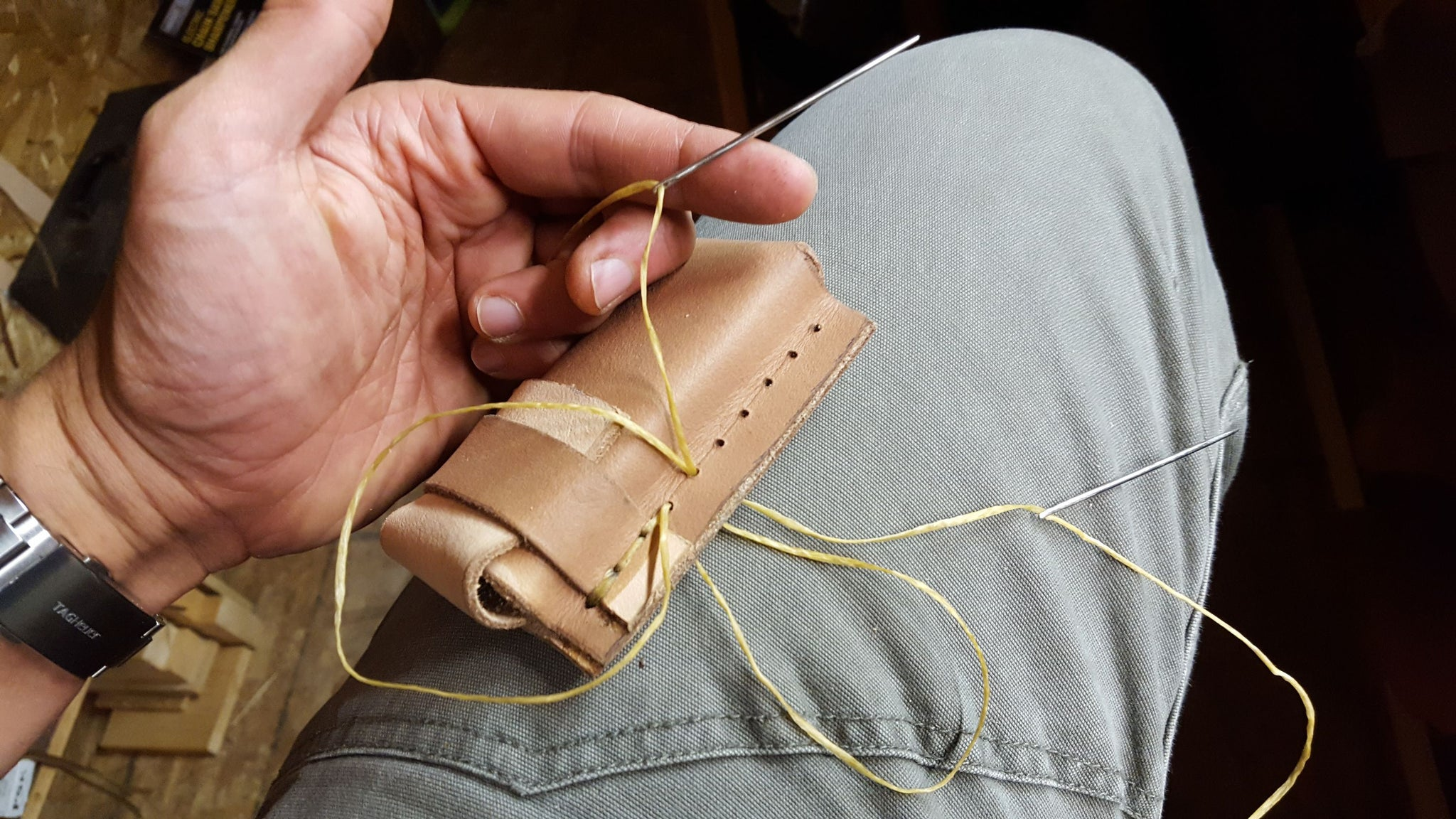 Leather Pouch Tutorial - Kevin Estela