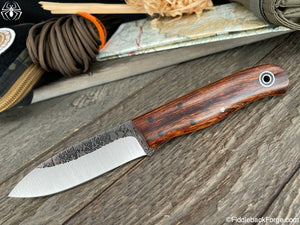 Fiddleback Forge Arete - Desert Ironwood - Fiddleback Forge Handmade Knife
