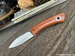 Fiddleback Forge Babyboot - Natural Canvas - Fiddleback Forge Handmade Knife
