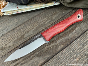 Fiddleback Forge Barracuda - Fire Dog Micarta