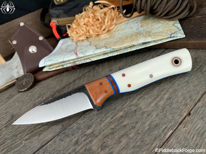Fiddleback Forge Bear Cub - CPM 154 - Ivory Linen