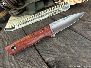 Fiddleback Forge Bear Cub - Sycamore - Fiddleback Forge Handmade Knife
