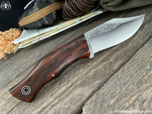 Fiddleback Forge Bullfrog Bowie - Desert Ironwood