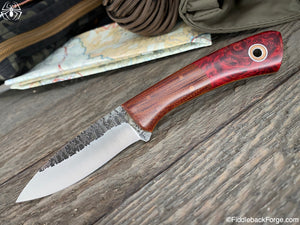 Fiddleback Forge Bushboot - Ruby Maple Burl