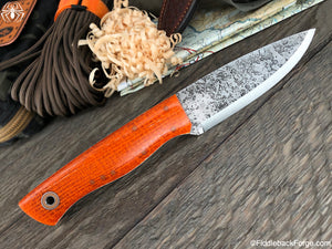 Fiddleback Forge Bushfinger - Orange Burlatex - SCANDI