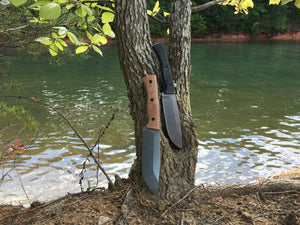 Fiddleback Forge Camp Knife - Mid-Tech Field Knife - 3V Steel - Fiddleback Forge - Mid-tech Production Knife