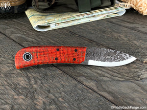 Fiddleback Forge D. Humpback - Model Info - Fiddleback Forge Handmade Knife