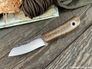 Fiddleback Forge Daimyo - Brown Burlap
