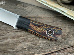 Fiddleback Forge Daimyo - Python Canvas - Fiddleback Forge Handmade Knife