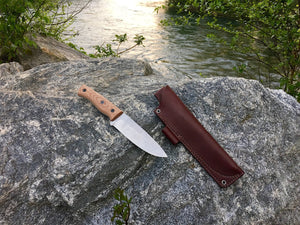 Fiddleback Forge Duke - Mid-Tech Field Knife - S35VN - Fiddleback Forge - Mid-tech Production Knife