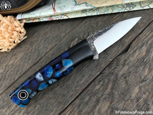 Fiddleback Forge ED Karda - Arctic Cells - Fiddleback Forge Handmade Knife