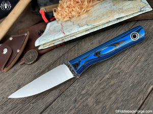 Fiddleback Forge Elf - 8670 - Black/Blue G-10