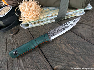 Fiddleback Forge Elf - Model Info - Fiddleback Forge Handmade Knife