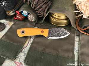 Fiddleback Forge Neckmuk - Osage - SCANDI - Fiddleback Forge Handmade Knife