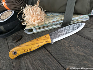 Fiddleback Forge Arete - Model Info - Fiddleback Forge Handmade Knife
