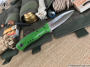 Fiddleback Forge Asp - Lime Burlap