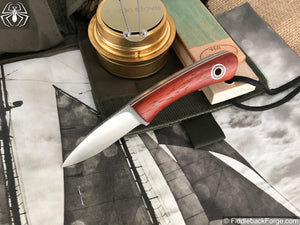 Fiddleback Forge Babyboot - Model Info - Fiddleback Forge Handmade Knife