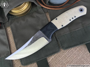 Fiddleback Forge Bourbon Street Skinner - Model Info - Fiddleback Forge Handmade Knife