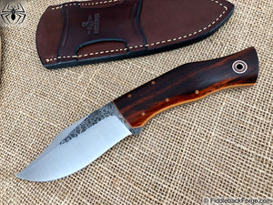 Fiddleback Forge Bullfrog Bowie - Model Info - Fiddleback Forge Handmade Knife