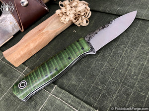 Fiddleback Forge Bush Hermit - Model Info - Fiddleback Forge Handmade Knife
