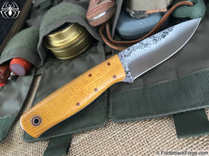 Fiddleback Forge Bush Hermit - Osage - Fiddleback Forge Handmade Knife