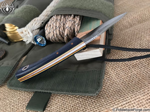 Fiddleback Forge Bushboot - Navy Burlap