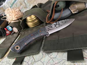 Fiddleback Forge Bushboot - Model Info - Fiddleback Forge Handmade Knife