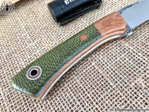 Fiddleback Forge Bushboot - Evergreen Burlap