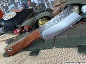 Fiddleback Forge Bushcraft Hatchet - Natural Canvas Micarta