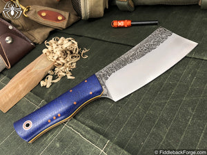 Fiddleback Forge Bushcraft Hatchet - Model Info - Fiddleback Forge Handmade Knife