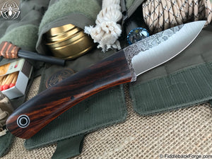 Fiddleback Forge Bushcraft Tasker - Desert Ironwood