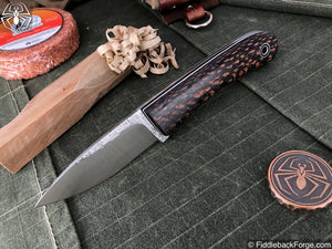 Fiddleback Forge Bushcraft Tasker - Lacewood