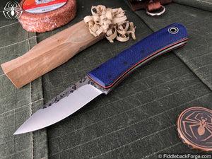 Fiddleback Forge Bushcraft Tasker - Navy Burlap